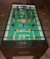 brown and green foosball table Columbus, 43211