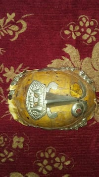 Antique Tibetan Temple turtle shell mask