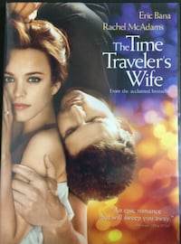The Time Traveler's Wife Dvd - Eric Bana & Rachel McAdams Bethesda, MD, USA
