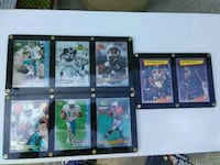 assorted football player trading cards Skokie, 60076