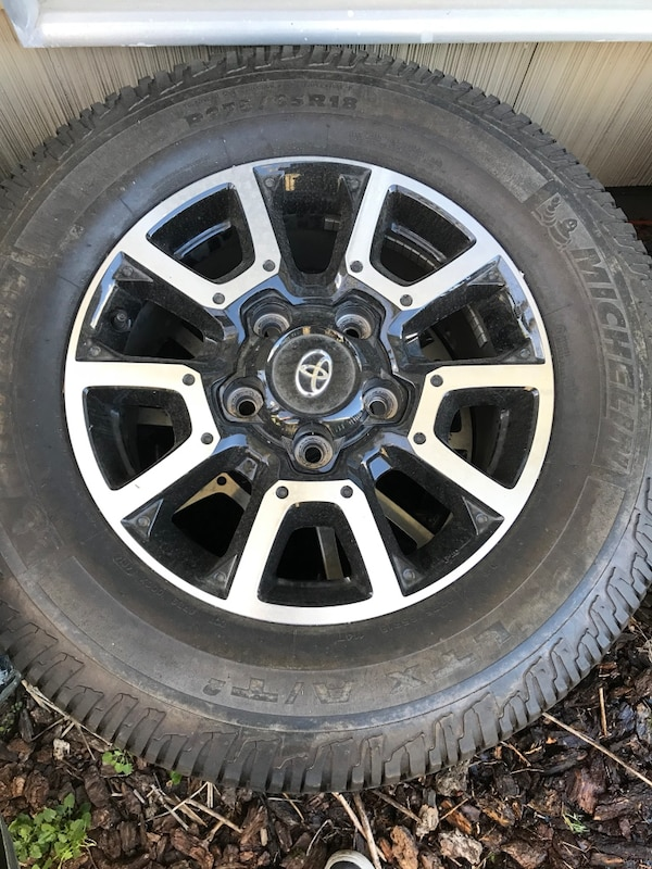 Used Toyota Tundra Wheels And Tires Set Of 4 For In Portland Letgo