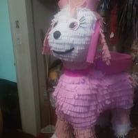 pink and white dog pinata Fontana, 92335