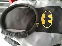 black and white Batman print backpack Manchester, 03102