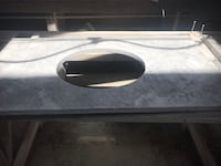 White carrera vanity top with sink included Gaithersburg, 20877