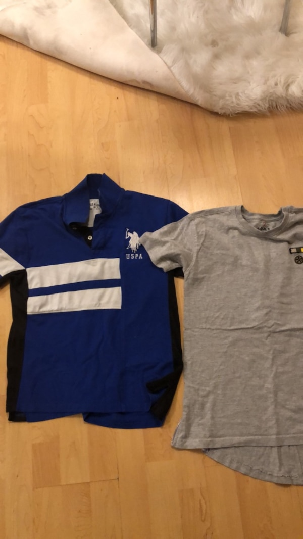 facca867 Used blue and white polo shirt for sale in Bellflower - letgo