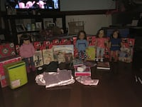 American Girl dolls and accessories lot