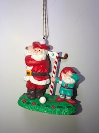 Collectible Hard to Find GOLF Ornaments, Most From 80's & Early 90's, Brand New & Like New, Super Cute!! (PLEASE READ DESCRIPTION!)