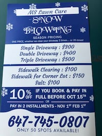 Snow Removal Mississauga, L5N