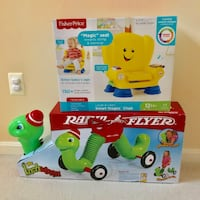 Radio Flyer Ride On + Fisher Price Smart Stages Chair (New in Boxes) Ashburn