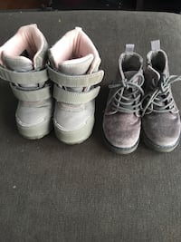 Multi item- toddler suede and winter boot size 6 Calgary, T2B