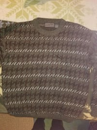 black and gray knit sweater Vienna, 22180