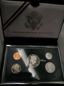 US Mint Premier Silver Proof Set