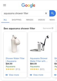 Aquasana Shower Filter - unopened!