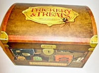 HALLOWEEN TREAT PRESENTER  filled with 100+ TRICKERY TREATS!