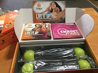 """Zumba Gold """"Live It Up"""" Workout DVD's - $70 Abbotsford, BC, Canada"""