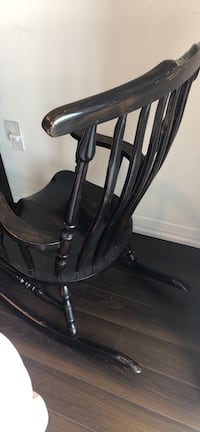 Black Solid wood rocking chair Toronto, M2J