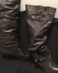 Size10 Brown Leather Boots  Annapolis, 21409