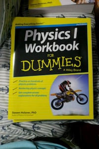 Physics 1 Workbook for Dummies  Ridgely, 21660