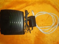 Motorola Modem, Power Adapter, Coaxial and Ethernet Cables