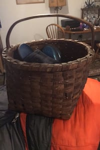 Oak basket Antique