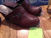 pair of brown leather shoes Colorado Springs