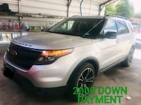 2014 - Ford - Explorer with 2000 of down payment  Houston