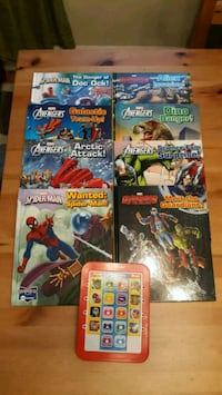 four assorted Marvel comic books Silver Spring, 20902