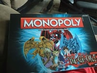 Yu Gi Oh Monopoly: No Longer In Print Retail value 185 Vancouver, V5X 2A1