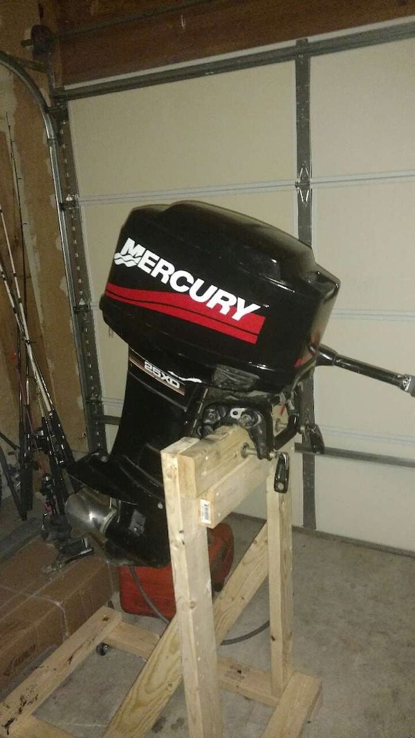 Used 25 Hp Mercury Outboard Motor For Sale In Leander