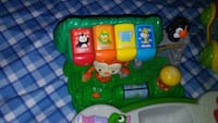 green and yellow Vtech learning toy Anderson, 29625