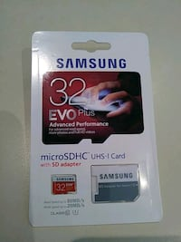 SAMSUNG EVO Plus 32GB microSDHC Card w/ SD Adapter Greenville