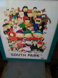 Framed South Park picture