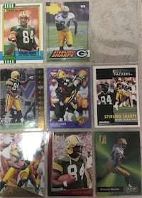 Sterling Sharpe collectible cards