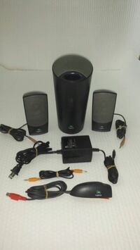 black 2.1 multimedia speaker Laval, H7W 3C5