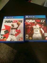 two Sony PS4 game cases Fort Worth, 76112