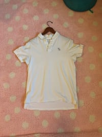 White Abercrombie and Fitch polo  52 km