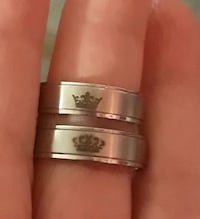 Stainless steel couples rings Palmdale, 93550