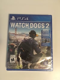 Watch Dogs 2 PS4 Brand New Mississauga, L5M