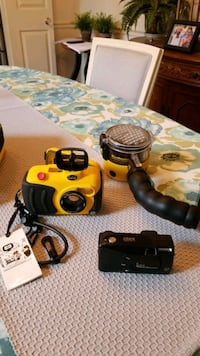 Underwater Camera Housing with External Flash