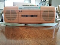 Sharp cassette, am/FM boombox Rockville, 20850