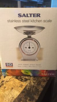 Stainless steel kitchen scale brand new