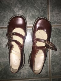 Dr Martins women's brown leather Mary Janes