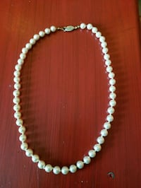 Cultured freshwater pearl necklace Manassas, 20109