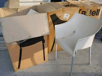 "Kartell ""Dr No"" chairs -Sold as pair- Glen Burnie, 21061"