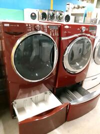 MIX AND MATCH FRONT LOAD WASHER AND DRYER SET WITH PEDESTAL WORKING PE Baltimore, 21223