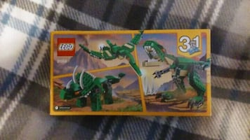 New~  3-in one~ Dinosoar Lego Set...