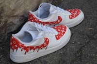 Air force 1 lv drip custom
