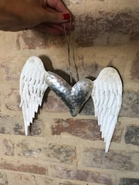Angel Winged Heart Decor