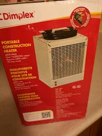Simplex construction heater