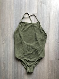 NEW Olive Green One Piece Bathing Suit  Markham, L6B 1N4